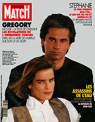 Paris Match cover issue 2128