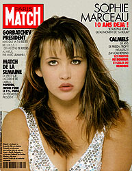 Paris Match cover issue 2130