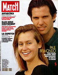 Paris Match cover issue 2132