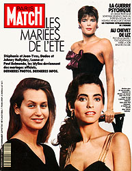 Paris Match cover issue 2141