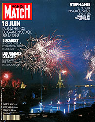 Paris Match cover issue 2144