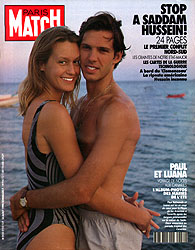 Paris Match cover issue 2152