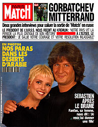 Paris Match cover issue 2157