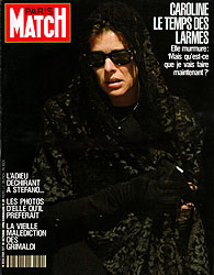 Paris Match cover issue 2160