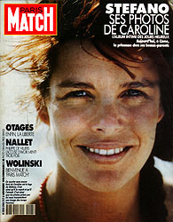 Paris Match cover issue 2163