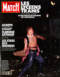 Paris Match cover issue 2165